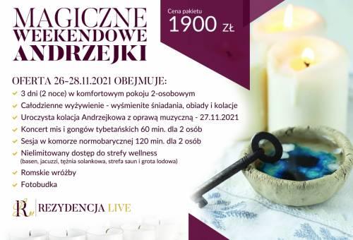26-28.11.21 Magiczne Weekendowe Andrzejki